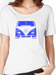 VW Kombi - Blue Women's Relaxed Fit T-Shirt