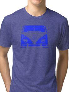 VW Kombi - Blue Tri-blend T-Shirt