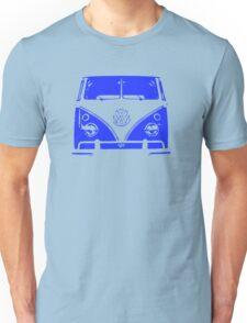 VW Kombi - Blue Unisex T-Shirt