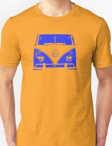Blue VW Kombi T-Shirt