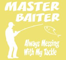 Master Baiter Funny Fishing Kids Clothes