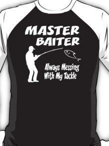 Master Baiter Funny Fishing T-Shirt