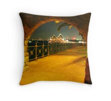 Gateway to Oz Throw Pillow