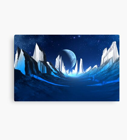 IceFire Canvas Print