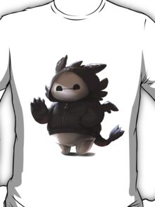baymax like as toothless T-Shirt