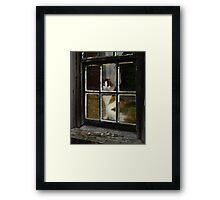 Buffy Looking Out Framed Print