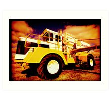 Big Equipment Art Print