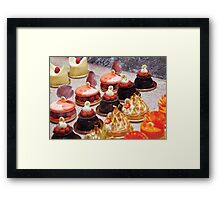 Le Dessert Framed Print
