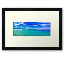 Cairns - View of the headlands Framed Print