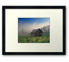 Reminds him of home in Texas! Framed Print