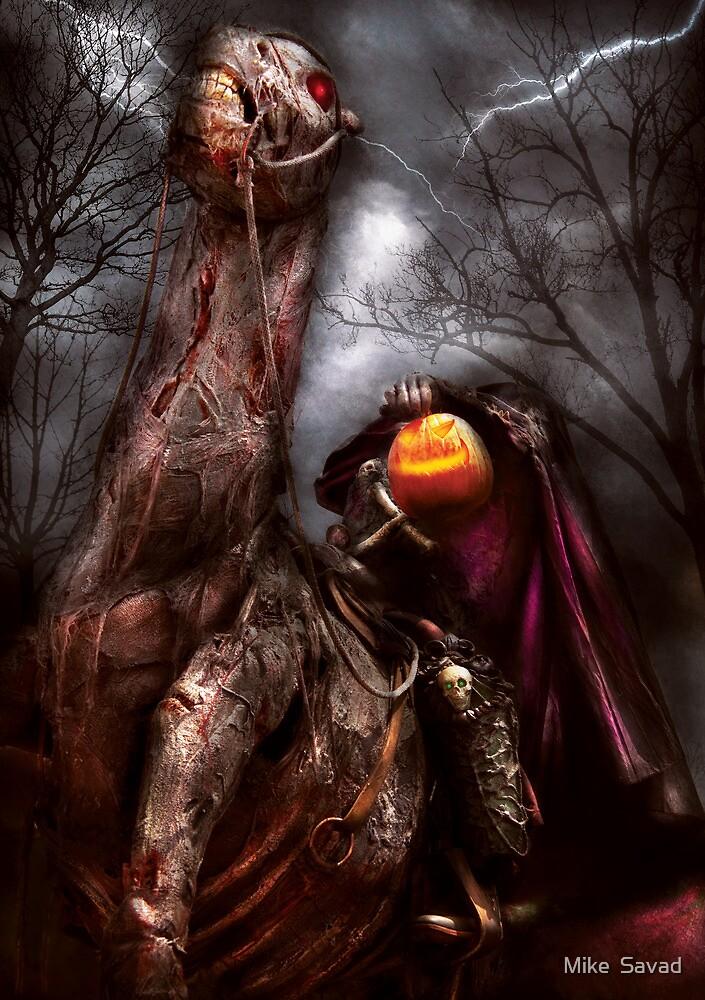 The Headless Horseman by Mike  Savad