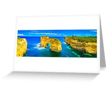 The Great Ocean Road - View of Elephant Rock  Greeting Card