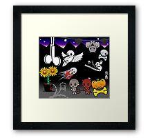 mikoto's Halloween Framed Print