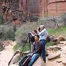 Zion National Park 2006--My family by Dusker