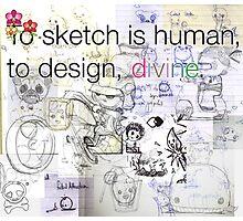 mikoto's Sketchbook Photographic Print