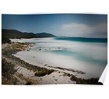 Lunar Beach - Friendly Beaches, Tasmania Poster