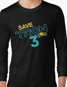 Save Tron 3 [color] Long Sleeve T-Shirt