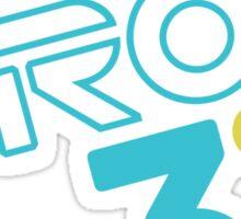 Save Tron 3 [color] Sticker