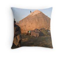 Song Kol, Kyrgyzstan Throw Pillow