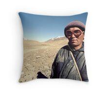 Pamirs, Tajikistan Throw Pillow