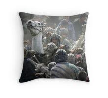 Hissar, Tajikistan Throw Pillow