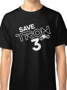 Save Tron 3 [white] Classic T-Shirt