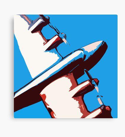 Bullet Plane Canvas Print