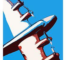 Bullet Plane Photographic Print