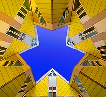Cubic Houses Rotterdam by Ward McNeill