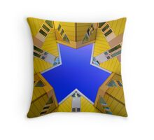 Cubic Houses Rotterdam Throw Pillow