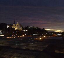 Edinburgh at night by Malcolm Kirk
