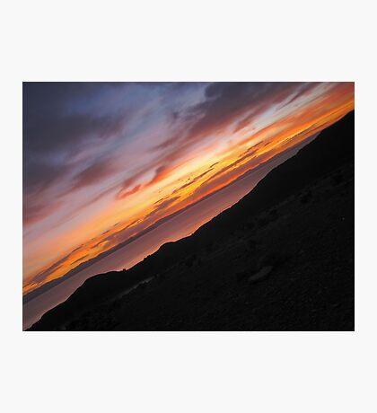 Sunset. Photographic Print