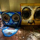 Ghost Town Laundry Room by Ward McNeill