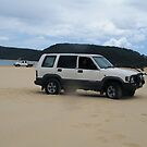 Our Jackaroo  1997 model Rest at rainbow beach qld , by mandyemblow