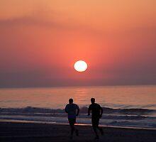 Sunrise Run by eegibson