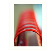 Tubular Spine © Vicki Ferrari Photography Art Print
