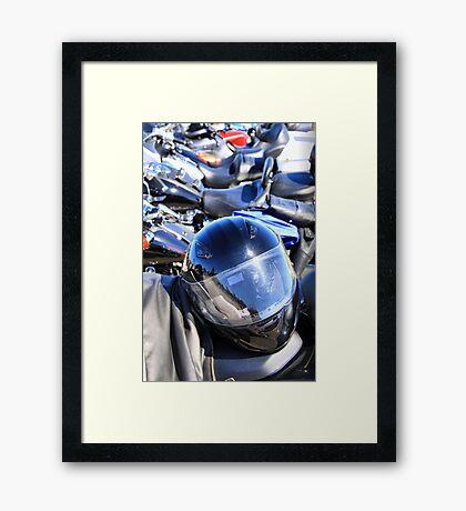 Smart Rider Framed Print
