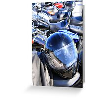 Smart Rider Greeting Card