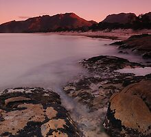 First Light On The Hazards by Michael Walters