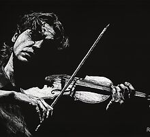 Violist by Richard Young