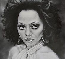 The incomparable Diana Ross. by Philip Holley