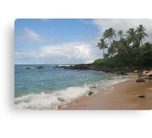 Gorgeous Beach On The North Shore Of Oahu, Hawaii Canvas Print