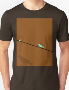 Walking on a wire. T-Shirt