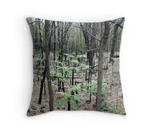 Nature's resolve Throw Pillow