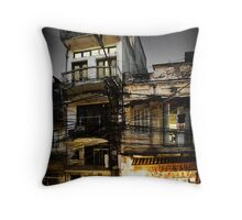 Street in Hanoi #0101 Throw Pillow