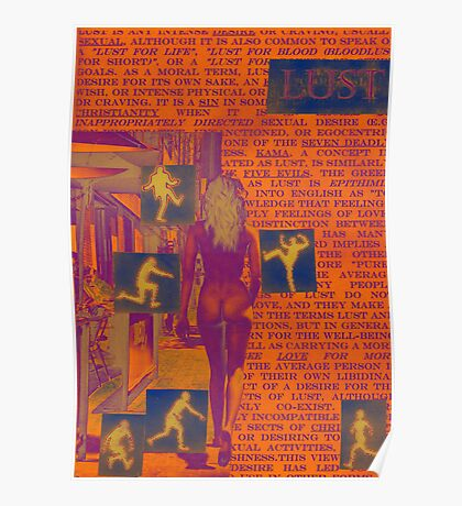 7 Deadly sins-Lust Poster