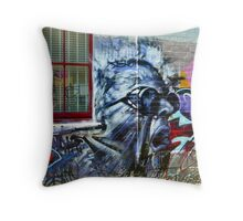 Collingwood -Scream Throw Pillow