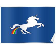 Unicorn Fart Poster