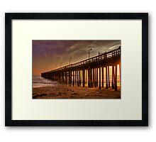 Ventura Pier Framed Print