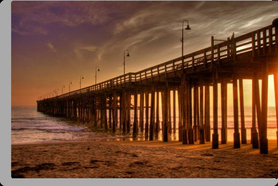 Ventura Pier by Cheryl  Lunde